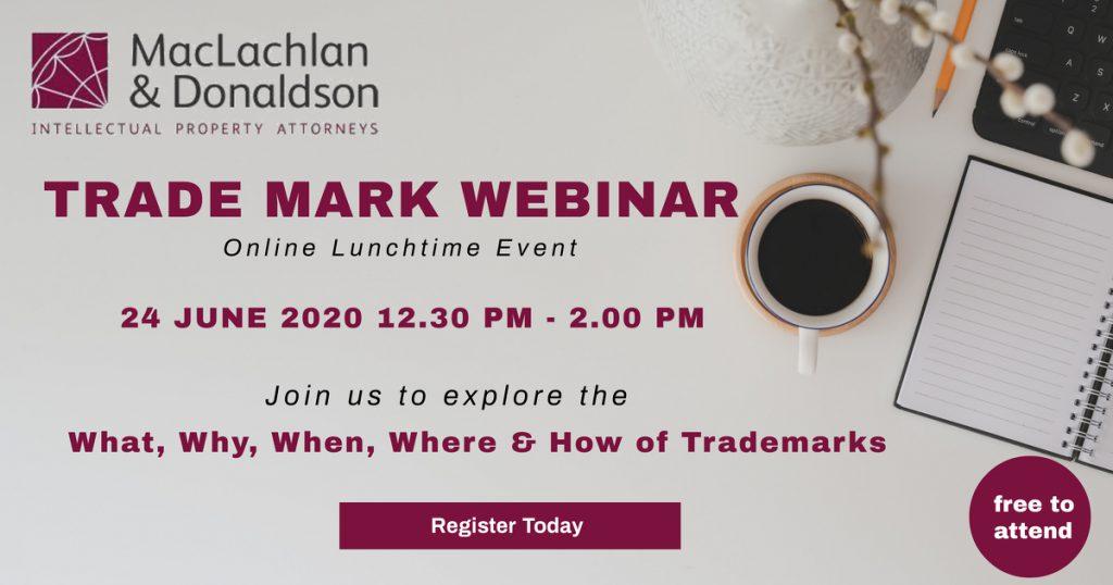 Trade Mark Webinar