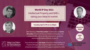 World IP Day Webinar 2021
